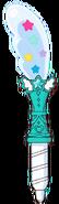Pluma Color Estelar Turquesa (Toei Animaton)