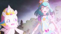 STPC45 Fuwa and Milky watch Hikaru power up