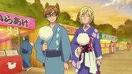 Henri y Masato en el festival