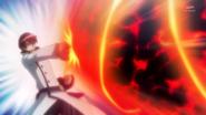 Phantom en el pasado atacando a Cure Tender