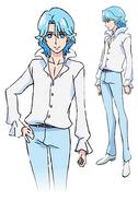 Blue asahi