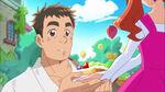 KKPCALM11 Ichika gives Genichirou a fruit tart