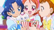 KKPCALM Aoi Pekorin Ichika Himari decide on tarts