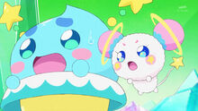 STPC10 Prunce and Fuwa are horrified as they witness everything