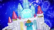 Palacio princesa tintilando de azul