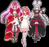 Twilight, Towa y Scarlet