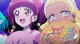 スター☆トゥインクルプリキュア 第26話予告 「ナゾの侵入者!?恐怖のパジャマパーティ☆」