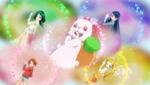 Precure 5 Metamorphose (Nozomi in a rabbit diguise)
