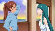 Asuka and Minami talking