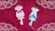Llave de Vestir de Flora y Mermaid al final del episodio 2 y 3