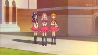 The girls return to Magic World
