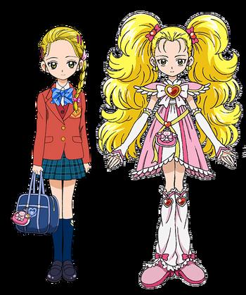 Perfiles de Hikari y Shiny Luminosa