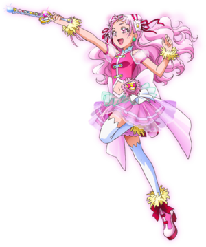Profile of Cure Yell