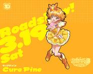 Cartel de Cure Pine en All Stars DX3