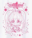 Cure Star t-shirt design