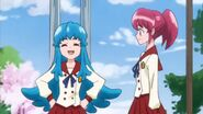 Hime hablando que ya contaba con 2 amigos (Megumi y Seiji)
