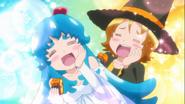 Hime y Yuko felices