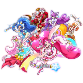 KiraKira Pretty Cure A La Mode grupo