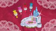 Llaves de Vestir Premium y Palcacio Princesa de Flora, Mermaid, Twinkle y Scarlet al final del episodio 32