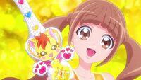 """Operation Nyatoran and Hinata say """"Cure Touch!"""""""