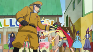 Oresky detiene el truco de Takuma