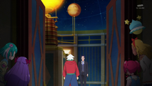 STPC11 Fuyuki tells Ryoutarou about how he discovered that a UFO landed nearby