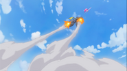 Saiark cohete persiguiendo a Lovely