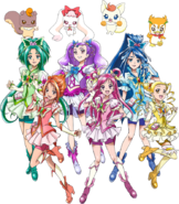 Yes! Pretty Cure 5 GoGo Perfil Haru