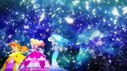 ....a espaldas de las princess precure