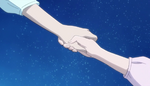 (48) Rico and Mirai holding hands