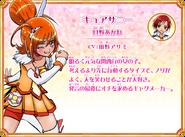 Cure Sunny perfil Recuerdos de All Stars