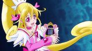 Cure heart con la magica arpa encantadora