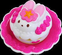 Pastel de fresa conejo (Fanbook)