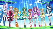 Yes!Pretty Cure 5 y Fresh Pretty Cure en Hugtto