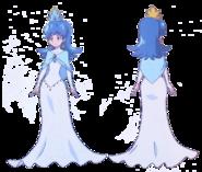 Perfiles de Hime con se vestuario de princesa
