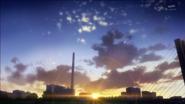 Пикаригаока на закате
