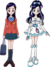 Honoka y Cure White (FutariWa)