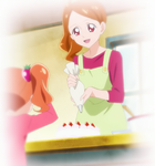 KKPCALM01-Satomi & Ichika decorating a cake
