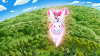 KKPCALM40-Whip riding crystal rabbit