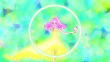 Kotoha draws a circle