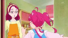 STPC01 Hikaru talking to her mom