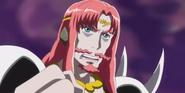 Mephisto tratand de comunicarse con Seiren