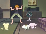 Nagisa manda callar mascotas