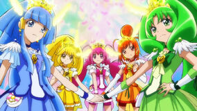 Pretty Cure Rainbow Healing