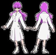 Yukari atuendo pelicula con abrigo