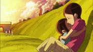 Haruka finalmente se encuentra con su madre