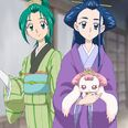 Komachi, Karen and Milk in Edo clothes