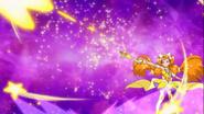 Estrella lanzandose