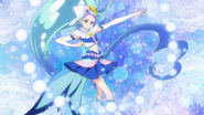 Mermaid presentandose