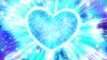 Color Charge Lala's heart drawing